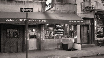 John's Pizza from Bleecker St