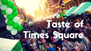 taste of times sq 2016