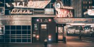 Ellen's Stardust Diner -lights on- Franck Bohbot's collection