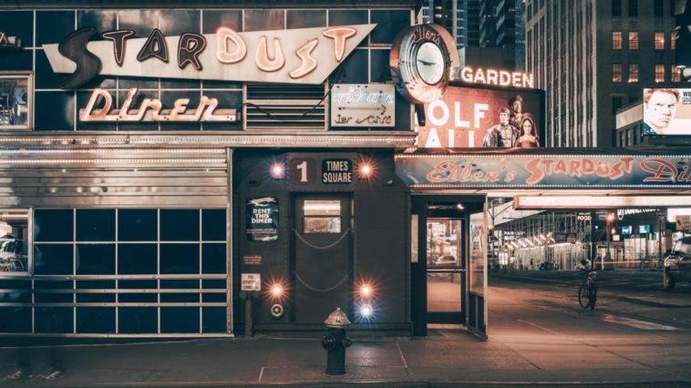Ellen's Stardust Diner -lights on- Franck Bohbot's collection