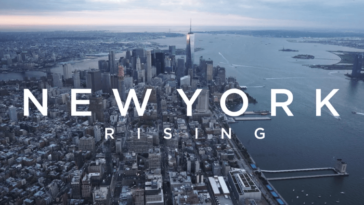New York Rising | Helicopter Flights Above Manhattan Video