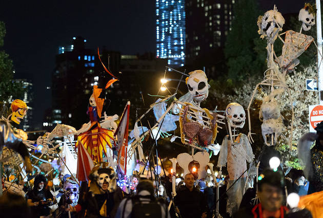 Village Halloween Parade in NYC