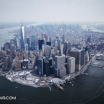 Lower Manhattan from above by NYOnAir