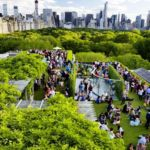 The Metropolitan Museum rooftop over Central Park