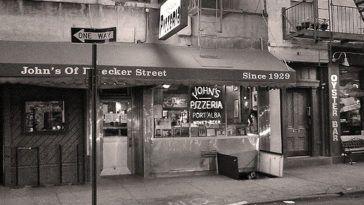 John's Pizza from Bleecker St