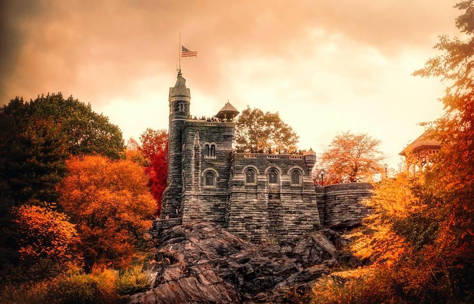 belvedere castle by gina brake