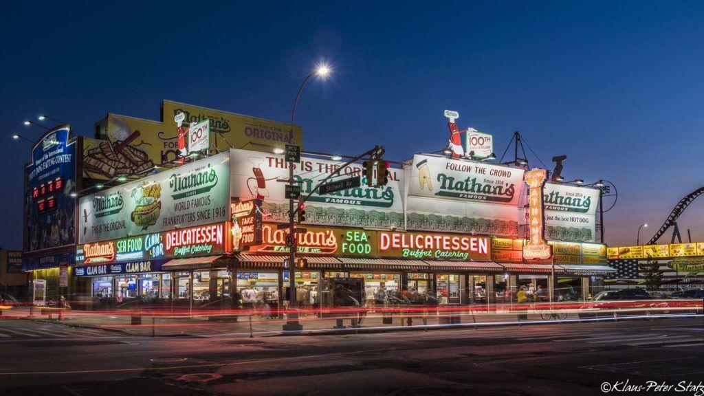 Nathan's Coney Island by Klaus-Peter Statz @kpstatz