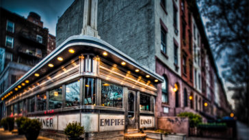 Empire Diner, Chelsea, Manhattan, New York