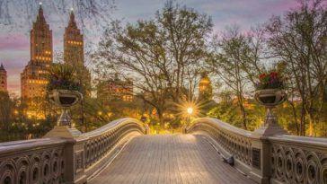 Bow Bridge Central Park by m_bautista330