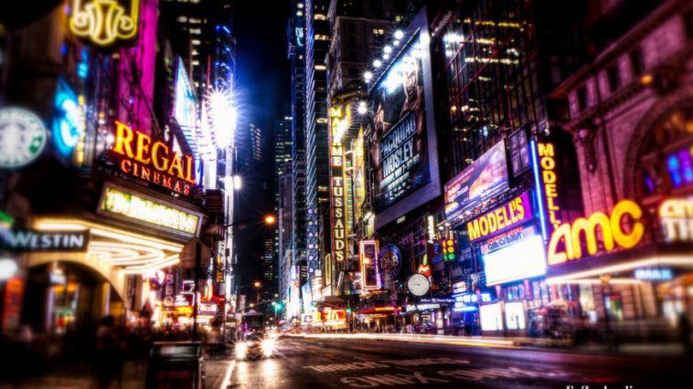 Broadway impressions by E. Zouboulis